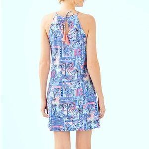 NWT HP Lilly Pulitzer Margot Dress Whisper Blue